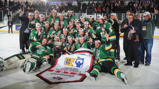 2015 Royal Bank Cup champions Portage Terriers