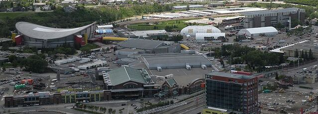 File:Saddledome from Calgary Tower.JPG