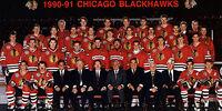1990–91 Chicago Blackhawks season