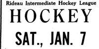 1949-50 Rideau Season