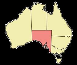 South Australia locator-MJC
