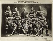 1923-24 Melville Millionaires team photo