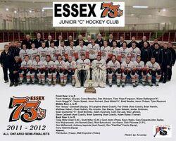 2011-12 Essex 73's