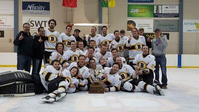 2016 WMHL champs Shaunavon Badgers