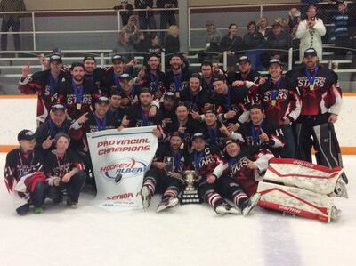 2016 Alberta Senior AA champs Daysland North Stars
