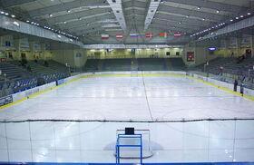 Arena Sanok during 2014 WC U20 in Sanok