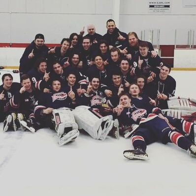 2016 EHL Elite champions Boston Jr Rangers
