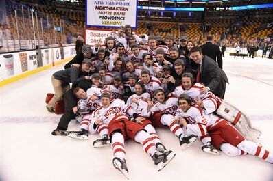 2015 Hockey East M tourn champs