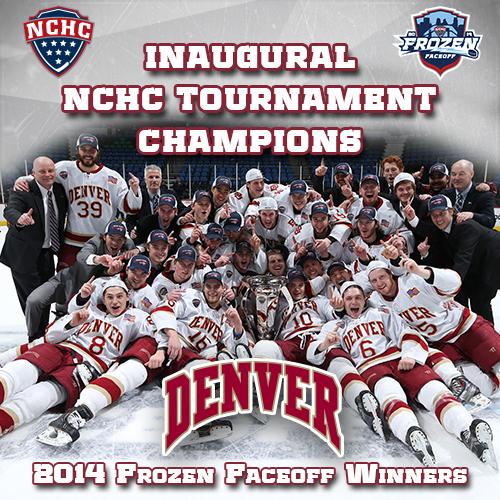 2014 NCHC tournament champions