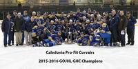 2015-16 GOJHL Season