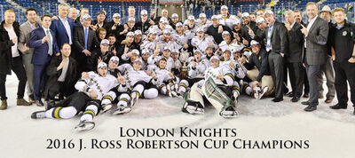 2016 OHL champs London Knights