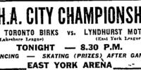 1952-53 OHA Senior B Playoffs