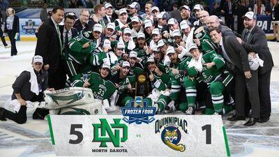 2016 Frozen four champs North Dakota