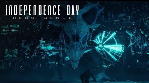 Independence Day Resurgence Deleted Scene - Queen's Chamber 20th Century FOX