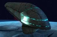 Alien Troop Transporter Ship