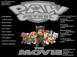 paw patrol the movie idea wiki wikia