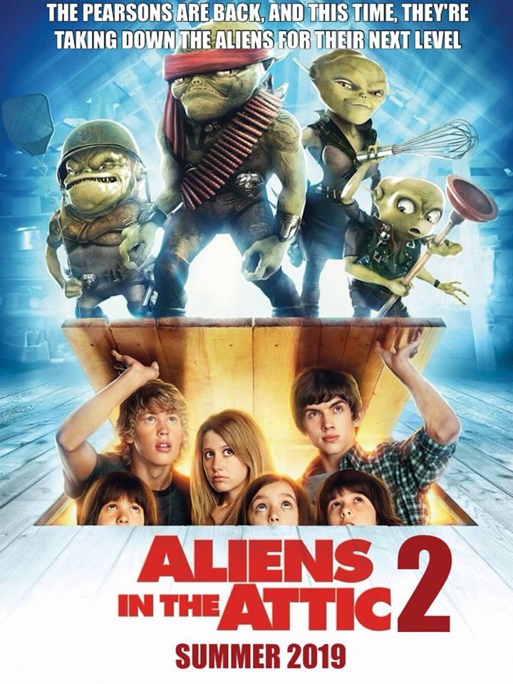 Aliens In The Attic 2 Idea Wiki Fandom Powered By Wikia