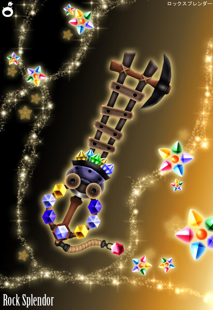 Treasure Trove Keyblade