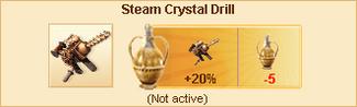 Steam Crystal Drill-2