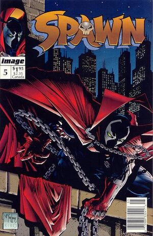 Cover for Spawn #5 (1992)