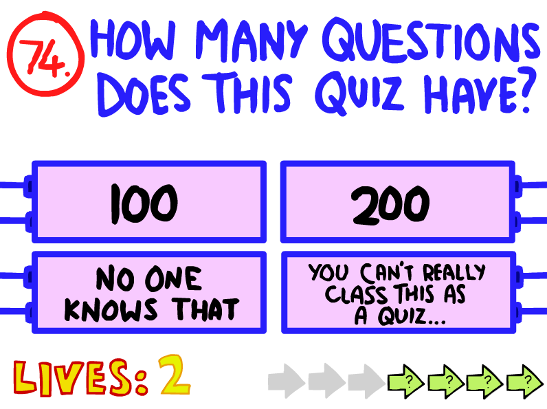 how to do the impossible quiz