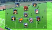 Shinsei Inazuma Japan's Formation HQEpisode1
