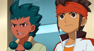 Zanakurou with Endou