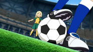 Sakura getting the ball first EP06