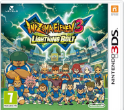 Inazuma Eleven 3 Lightning Bolt game box-art