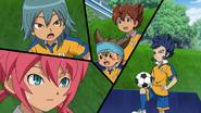 Everyone surprised about Hikatu's dribbeling