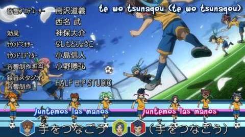 Inazuma Eleven GO Chrono Stone Ending 「Te Wo Tsunagou」 Sub Español
