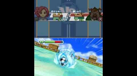Inazuma Eleven 3 Spark Freeze Shot