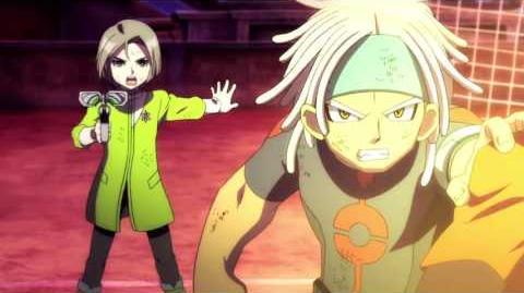 Inazuma Eleven GO vs Danball Senki W God Hand W