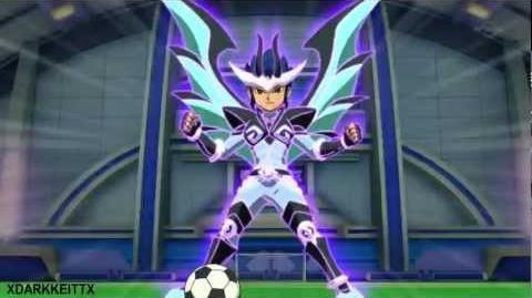 Inazuma Eleven GO Chrono Stone Ma Senshi Pendragon Vs Tenkuu no Shihaisha Hou HD