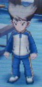 Kosaka Raimon Jacket Front Sprite GO Game