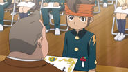 Endou at graduation