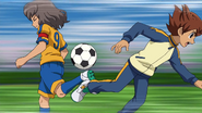 Shindou stealing the ball GO 4 HQ