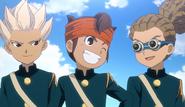 Endou Gouenji and Kidou! HQ126