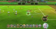 Inazuma Eleven Online match