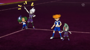 Ryugel's attempting to use Asokoni UFO EP37