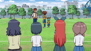 Tenma and Shinsuke came GO 7 HQ