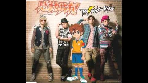 Inazuma Eleven Go Chrono Stone Opening 2 Kandou Kyouyuu! (Full version)