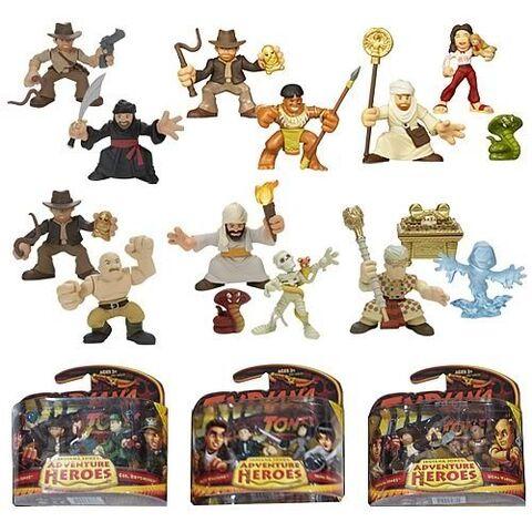 File:Indiana Jones Adventure Heroes Wave 3 Set.jpg