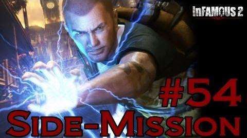 Infamous 2 Walkthrough - Side-Mission 54 Convoy IV