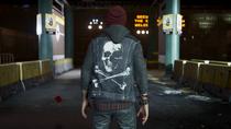Delsin wearing X-Bone vest
