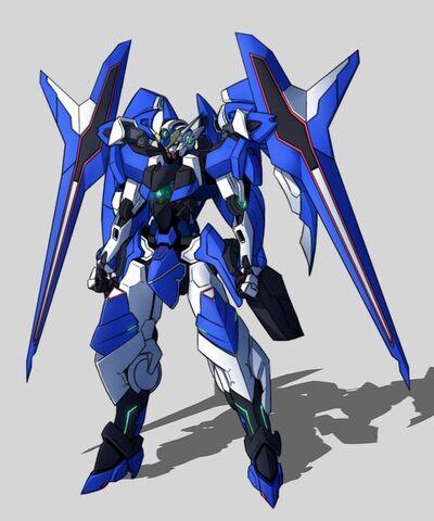 """File:Gundam Styled """"Blue Tears (Strike Gunner mode)"""" IS.jpg"""