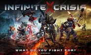 Infinite Crisis Battle Art