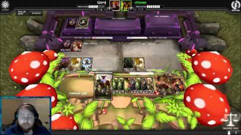 Infinity Wars Shoutcast Qarnij vs Chaoss-0