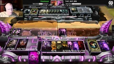 Infinity Wars Verore Sleeper Deck in Rank