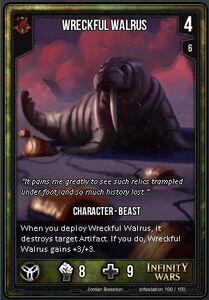 Wrackful Walrus